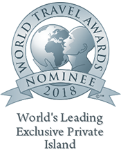 worlds leading exclusive private island 2018 nominee shield
